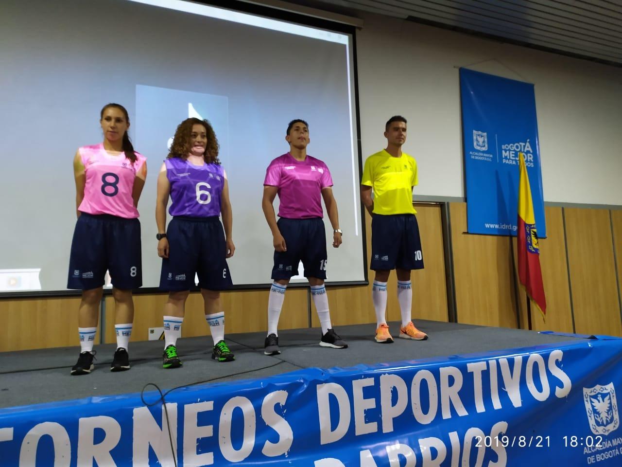 IV Versión Campeonato InterBarrios en Bogotá