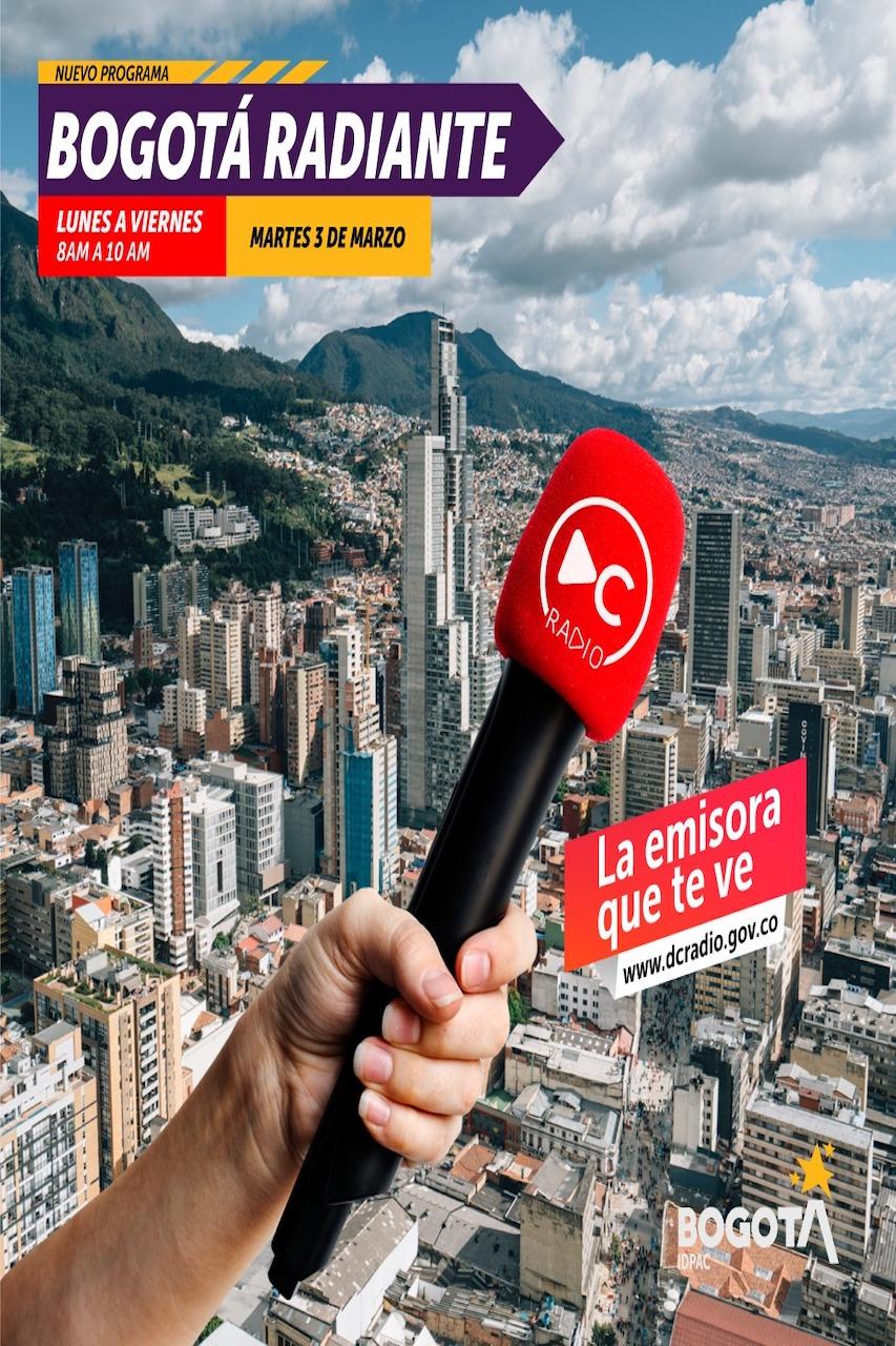 Pronto podrá escuchar el magazine de las mañanas,  con toda la información de Bogotá y todo lo que tiene que saber sobre cómo participar en los asuntos e iniciativas de su comunidad.