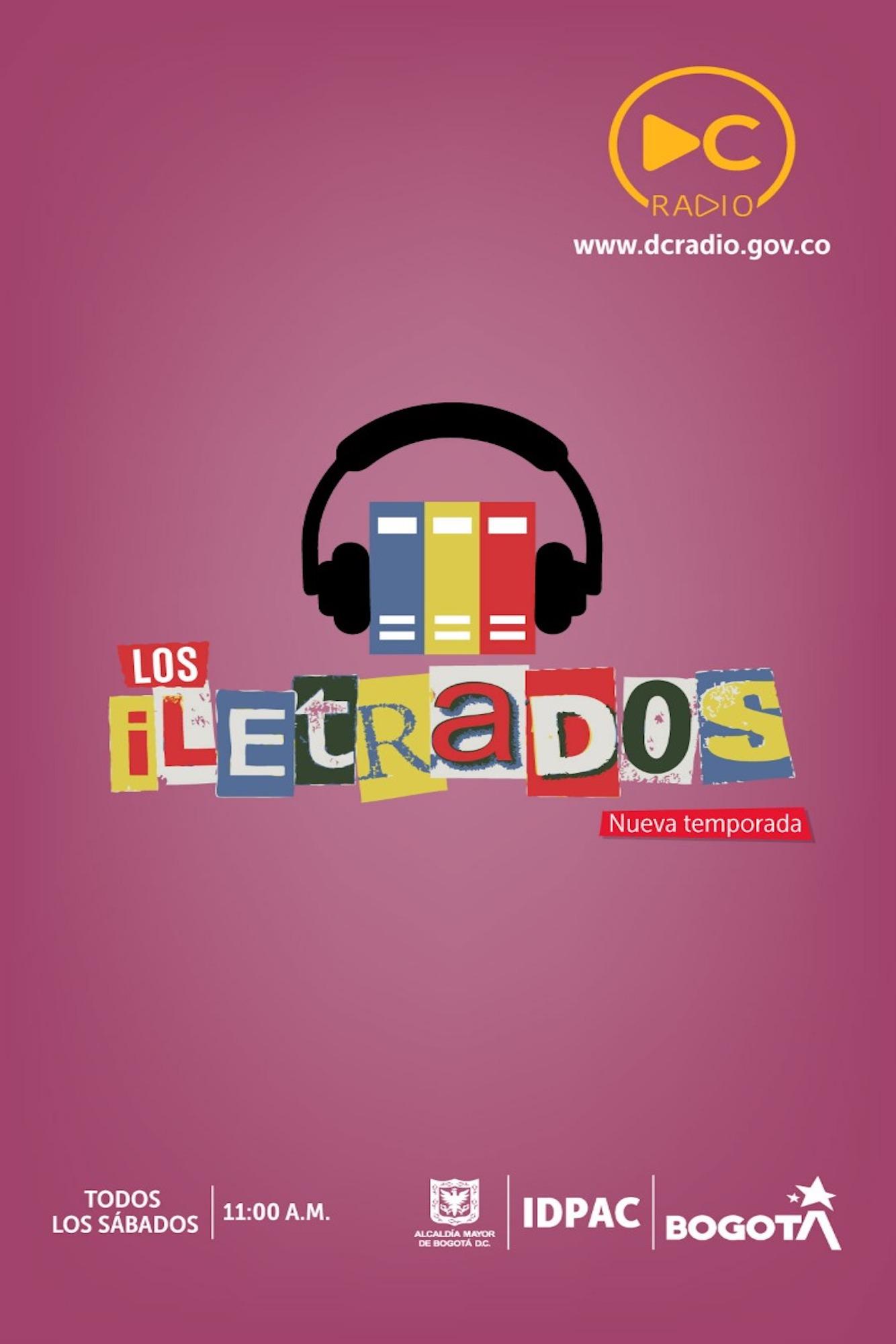 Los Iletrados es un programa para todos los que gozan de los libros y la música. Escúchelo todos los sábados a las 11:00 a.m.