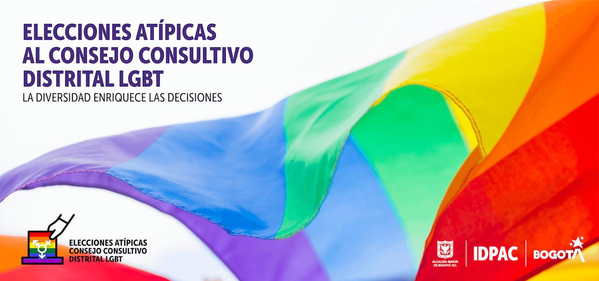 Último día de inscripción para participar en las elecciones al Consejo Consultivo Distrital LGBT