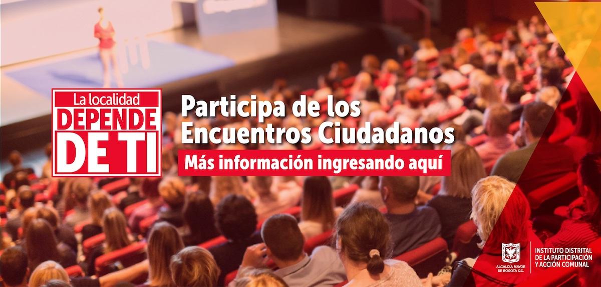 Alcaldías Locales instalan los Encuentros Ciudadanos de forma virtual