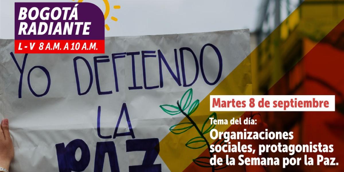 Semana por la Paz en Colombia: ideas para la Reconciliación